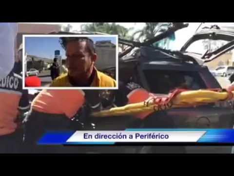 Entrevista con el Director de Bomberos Tlajomulco referente al fuerte accidente en López Mateos Sur