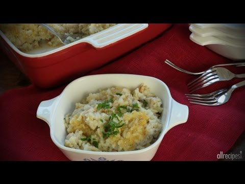 Main Dish Recipes - How to Make Quick Chicken and Rice Casserole
