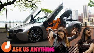 The 2019 BMW i8 Roadster Is a Queen's Chariot