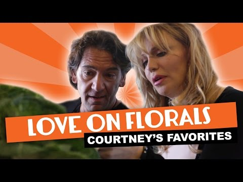 Courtney Love on Florals ~ Courtney's Favorites