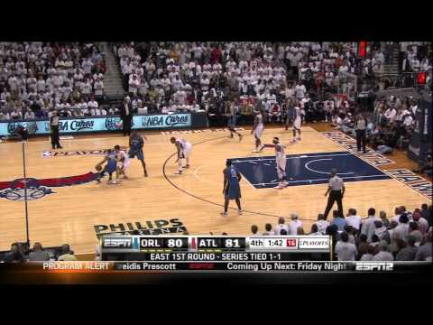 NBA Playoffs 2011: Hawks vs. Magic Game 3 - Jamaal Crawford Wins It