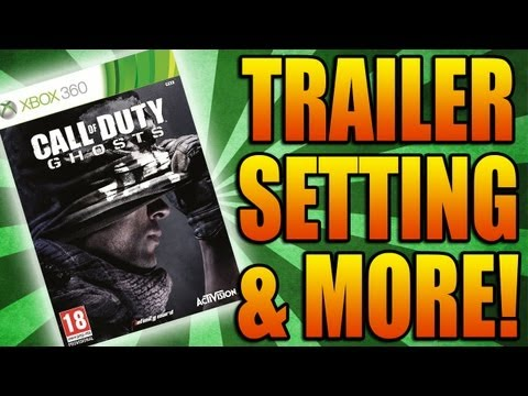 Call of Duty: Ghosts Trailer, Pre-Order Campaign, Setting, New Engine (New COD 2013 Phantom)