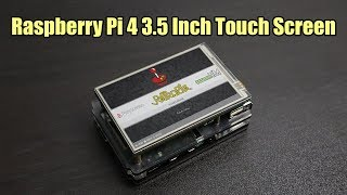 3.5 Inch 60FPS Touch Screen For The Raspberry Pi 4! iUniker Screen + Case
