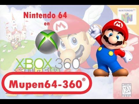Emuador de Nintendo 64 en Xbox360 (RGH-Jtag)