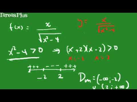 Dominio Y Rango Funci 243 N Racional Con Radical En El
