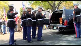 Marine Cpl. Jonathan Porto is Escorted Back Home-Pt.3
