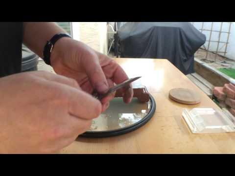 Sharpening on water stones
