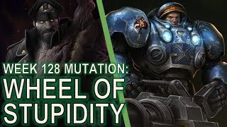 Starcraft II Co-Op Mutation #128 Wheel of Misfortune [UGH.]