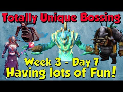 Week 3, Day 7 - Super Fun Day! [Runescape 3] Totally Unique Bossing #21