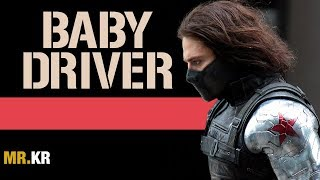 Captain America: The Winter Soldier - (Baby Driver Style)