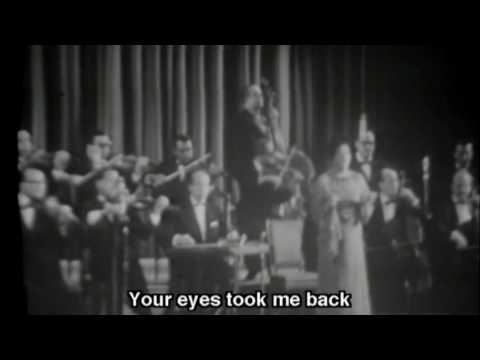 "Umm Kulthum ( أم كلثوم ) live; ""Enta Omri"" (English subtitles)"