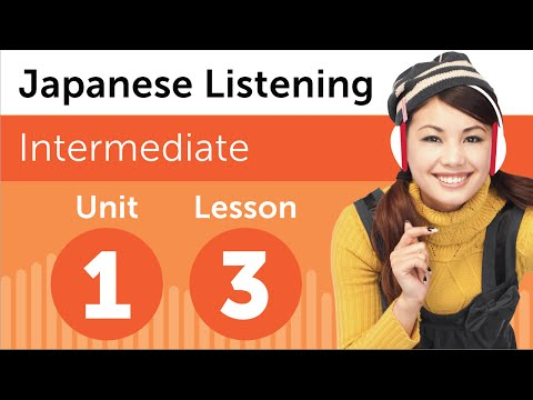Japanese Listening Comprehension - At the Hairdresser in Japan