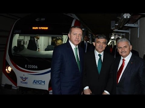 World's first trans-continental tunnel opens in Istanbul