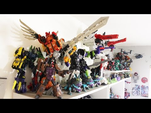 Shartimusprime's Transformers Collection 2014 Display G1, Masterpiece, Generations, Classics, And Mo video