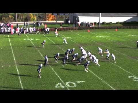 Nick Cominos Salisbury School Football 2013 Highlights