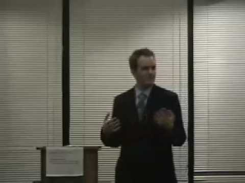 Toastmasters Speech #4 - How To Keep A Conversation Going - by Jason McGarva