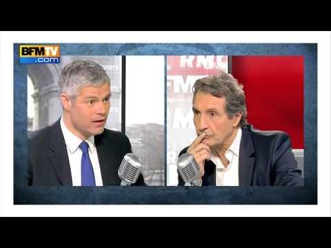 Zapping politique : Wauquiez p étrifié par une question de Bourdin