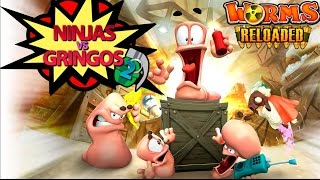 Worms - Time ninja x Time gringo