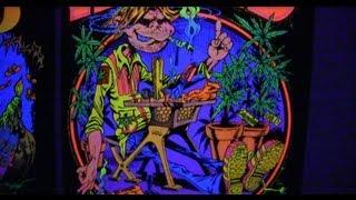 Blacklight posters - original American 70's art on felt
