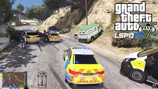 GRAND THEFT AUTO 5 LSPDFR EP #118 - FAIL BRITISH PATROL (GTA 5 PC POLICE MODS)