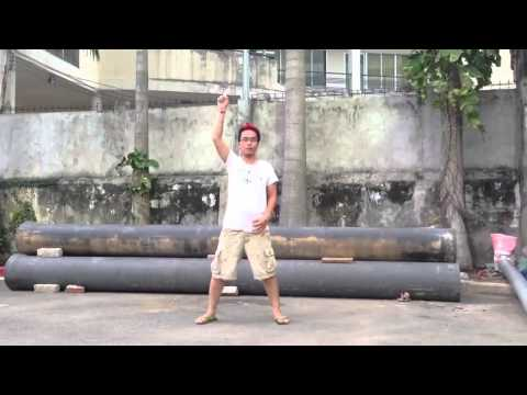 Vietnamese LGBT  flashmob 2013 training clip