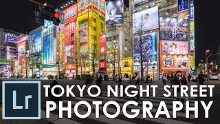 How to retouch an urban night street photography / Adobe Lightroom Tutorial Ep. #34