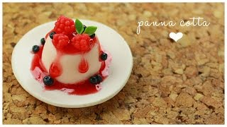polymer clay Panna Cotta TUTORIAL