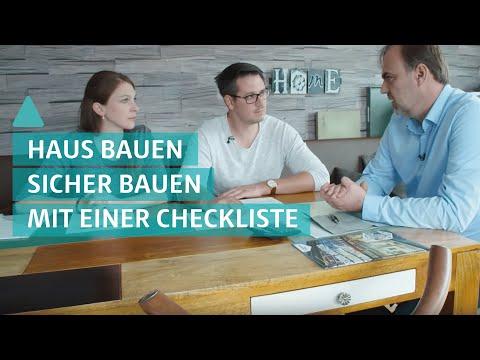 Hausbau: sicher bauen mit Checkliste - Bauherren erzählen Ihre Geschichte