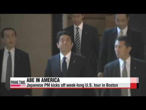 Japanese PM begins U.S. visit amid history row with neighbors   아베, ′사죄′ 생략할 듯..