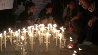 Aksi 1000 Lilin untuk TKI yang Meninggal di Malaysia