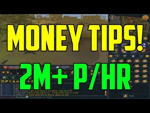 Runescape: 3 Simple Money Making Methods! 2M+ p/Hr