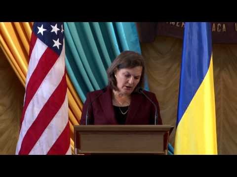 Assistant Secretary Victoria Nuland's Remarks at Shevchenko University in Kyiv, October 7, 2014