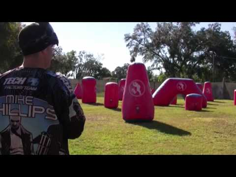 Getting shot off the break in paintball? Watch this video!