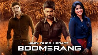 Boomerang 2019 New Released Upcoming Hindi Dubbed Full Movie Update | Atharvaa, Megha Akash,