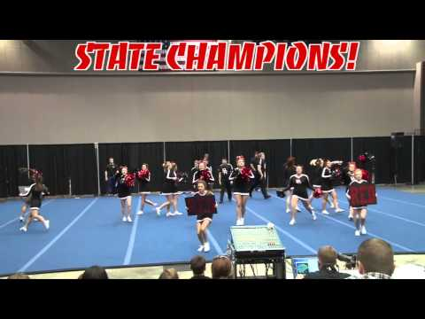Pea Ridge High School Cheer 2013 State Champions