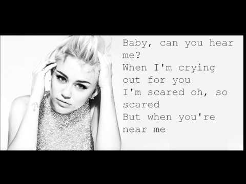 Miley Cyrus I Adore You Lyrics video