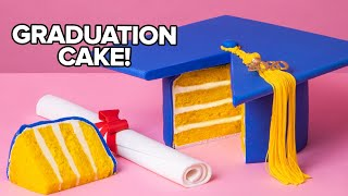 Quarantine Graduation Cap Cake for Class of 2020 | How To Cake It with Yolanda Gampp