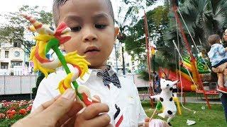 Trò Chơi Bé kent Đi Chơi Tết ❤ ChiChi ToysReview TV ❤ Đồ Chơi Video Cho bé Yêu