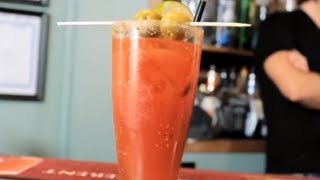Caeser Drink Recipe - Learn How to Make a Bloody Caesar