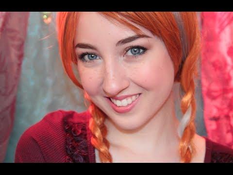 Disney's Frozen Anna Makeup