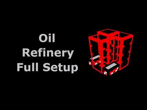 Oil Refinery Full Setup (Tekkit/Feed The Beast) - Minecraft In Minutes