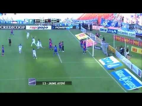 Gol de Ayoví. Godoy Cruz 1 - Tigre 1. Fecha 8. Primera División 2014. Fútbol Para Todos