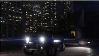 Grand Theft Auto V  Тест-Драйв  УАЗ 31519