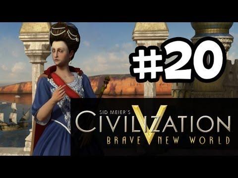 Civilization 5 Brave New World - Gameplay Walkthrough Part 20 - I hate Freedom