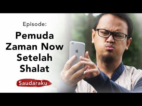 Saudaraku: Beginilah Pemuda Zaman Now Setelah Shalat (Jual Beli Online di Masjid)