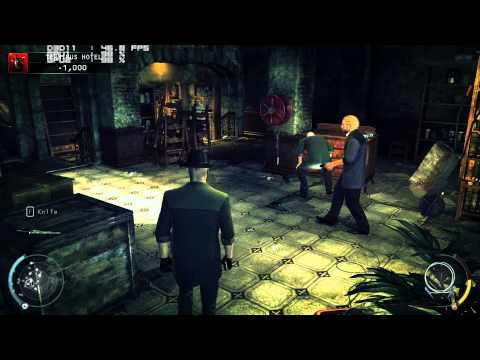 (18+) PC Crossfire 7850 2gb - Hitman Absolution - CRASHES! - 8xAA Ultra 1080p HD
