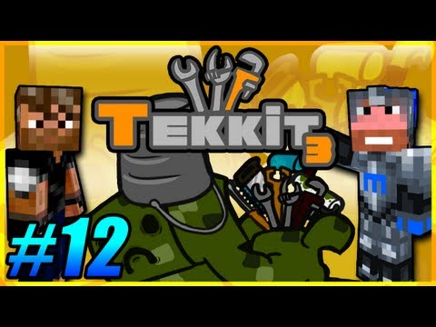Tekkit Pt.12 |I Like Gold LLC.| Volcano Powered Quarry