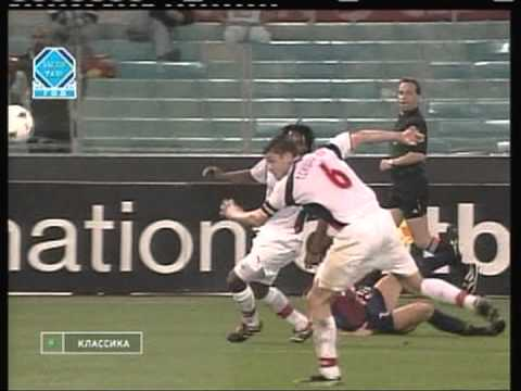 2001 September 26 AS Roma Italy 2 Lokomotiv Moscow Russia 1 Champions League