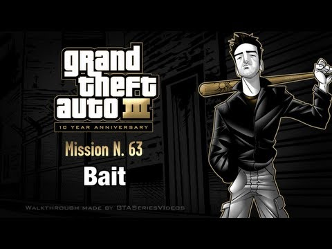 GTA 3 - iPad Walkthrough - Mission #63 - Bait