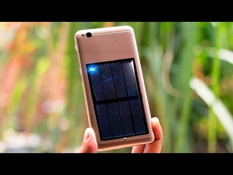 FREE ENERGY SOLAR Emergency Mobile Phone Charger -DIY thumbnail